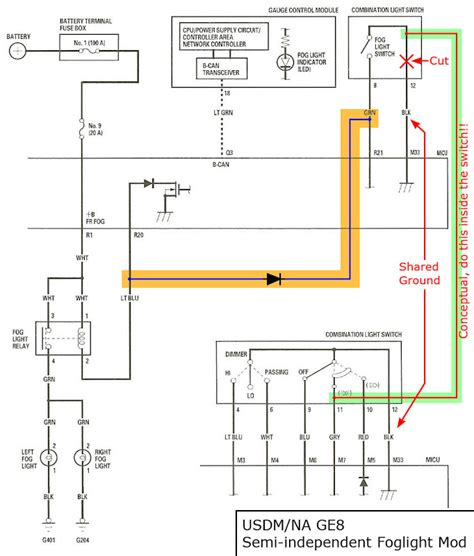 Honda Fit Wiring Harnes Diagram by Manual Fog Light Operation Page 3 Unofficial Honda Fit