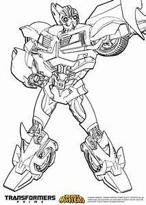 7 dessins de coloriage Transformers Prime à imprimer