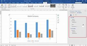 How To Edit  U0026 Insert A Chart In Microsoft Word 2016