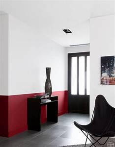 les 25 meilleures idees de la categorie salles a manger With delightful peindre salon 2 couleurs 2 peindre un mur en deux couleurs dynamisez vos espaces