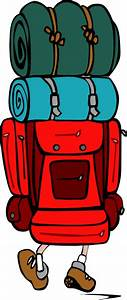 Open Backpack Clipart - Clipart Suggest