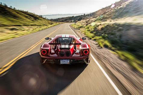 Race Car For The Road 2017 Ford Gt Driven On Ignition