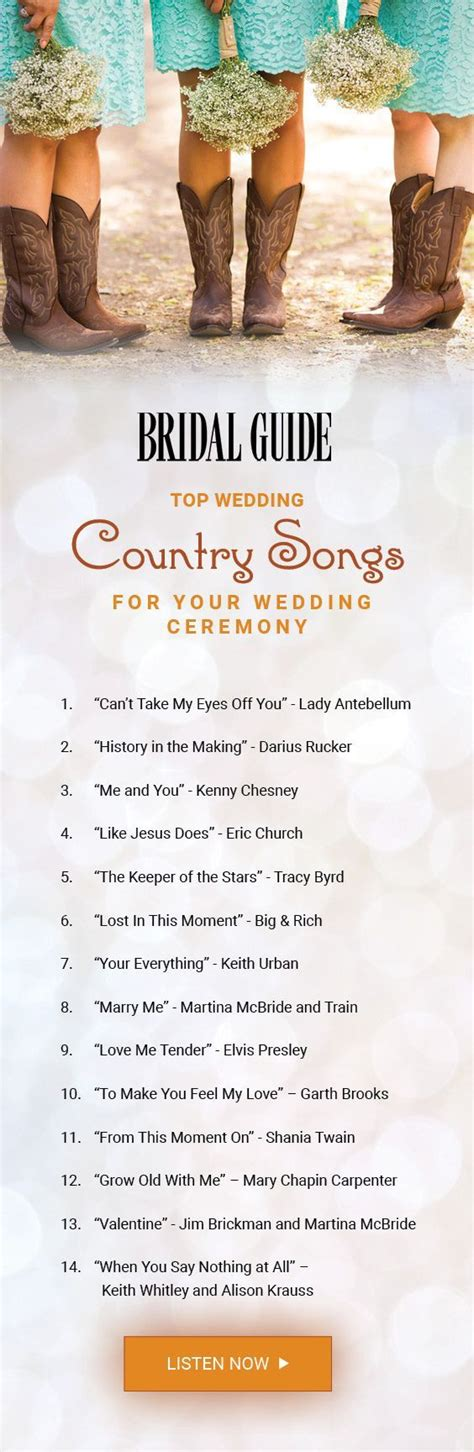 country wedding songs wedding songs the wedding pin