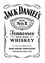 Jack Daniels Label Vector Template Getdrawings Vectors sketch template