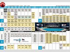 Calendario del Mundial de Natación 2017 de Budapest, al