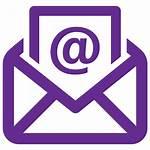 Transparent Clipart Mail Icon Purple Envelope Computer