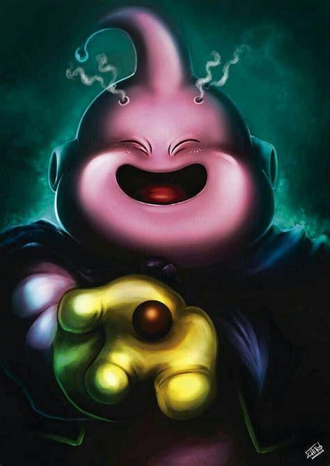 majin buu majin boo personajes de dragon ball dibujo