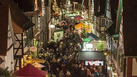 weihnachtsmarkt  dreieichenhain die altstadt im
