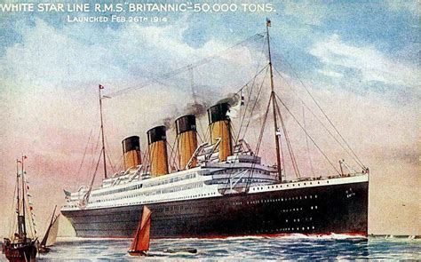 sinking of the britannic rms olympic britannic ultimate titanic