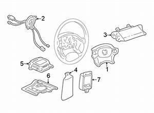 Cadillac Seville Air Bag Clockspring  Electrical  Lighting