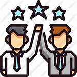 Partner Icon Icons Business Finance Cel Become