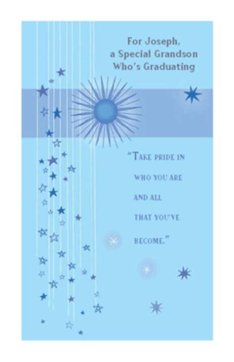 special grandson greeting card graduation printable
