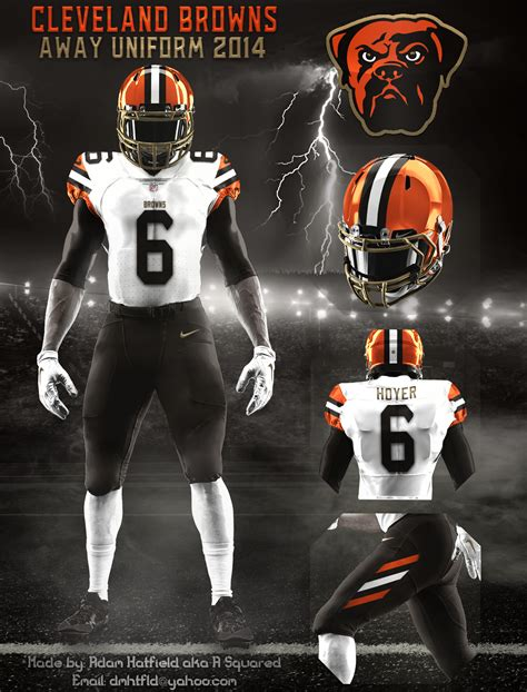 cleveland browns concepts chris creamers sports logos community