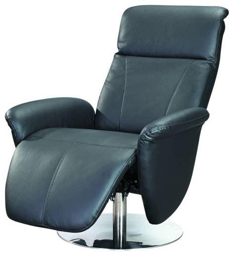 rosana black reclining swivel armchair contemporary