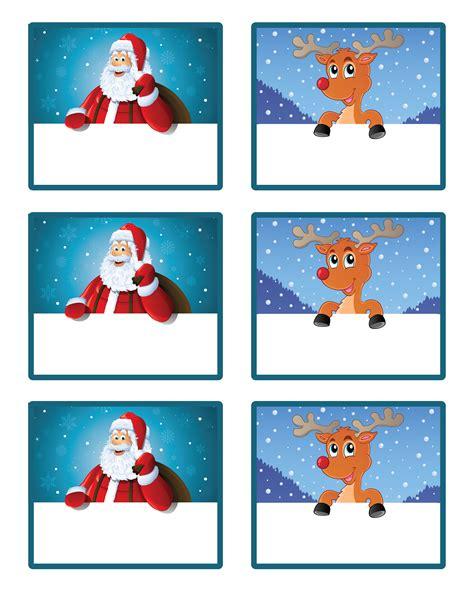 santas  gift    printable gift tags