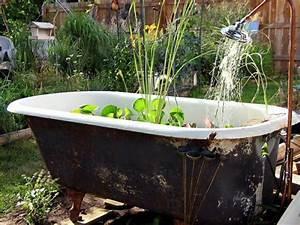 Mini Gartenteich Selber Bauen : mini gartenteich bauen kleine oasen im garten oder auf dem balkon gartenteich bauen ~ Michelbontemps.com Haus und Dekorationen