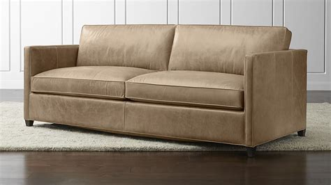 best crate and barrel sofa dryden leather queen sleeper sofa crate and barrel