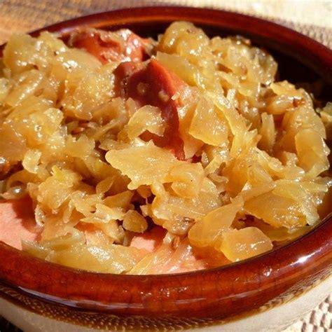 Recipes with Sauerkraut