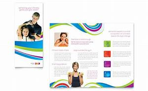 Personal trainer brochure template design for Training course brochure template
