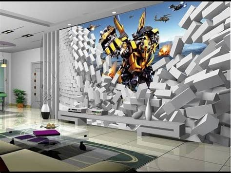 20 most stunning 3d wallpaper for walls decorating