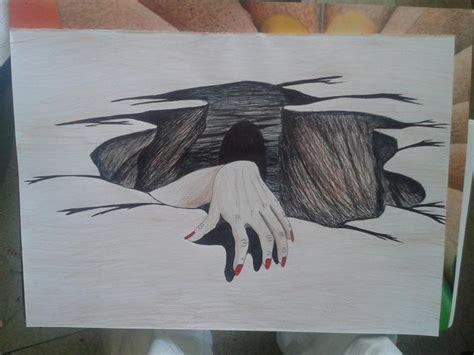 Dessin Trompe L Oeil Facile A Faire Trompe L Oeil Dessin Stylo Crayon By Tatatron Toiles D Artiste Cr 233 Ation By Tatatron