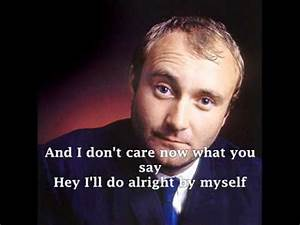 PHIL COLLINS - I DON'T CARE ANYMORE ( with lyrics ) - YouTube