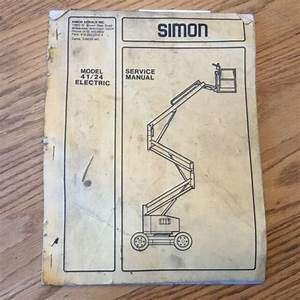 Simon Electric Eagle 41  24 Service  U0026 Maintenance Manual