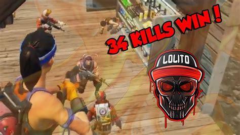 mi mejor partida  kills win fortnite clipzuicom