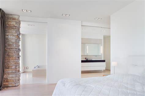 bad en suite wunderbar offenes badezimmer bad en suite bett wikhouse