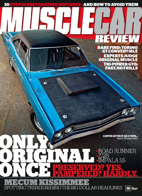 muscle car review magazine  guide  muscle cars