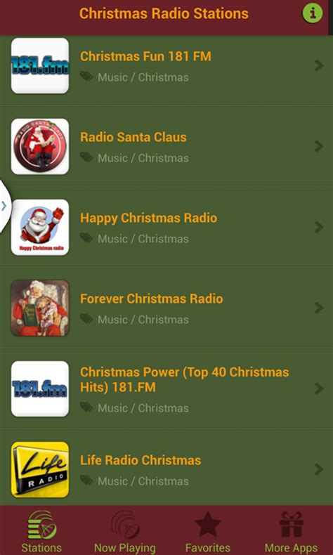 Christmas Radio Stations  Android Apps On Google Play