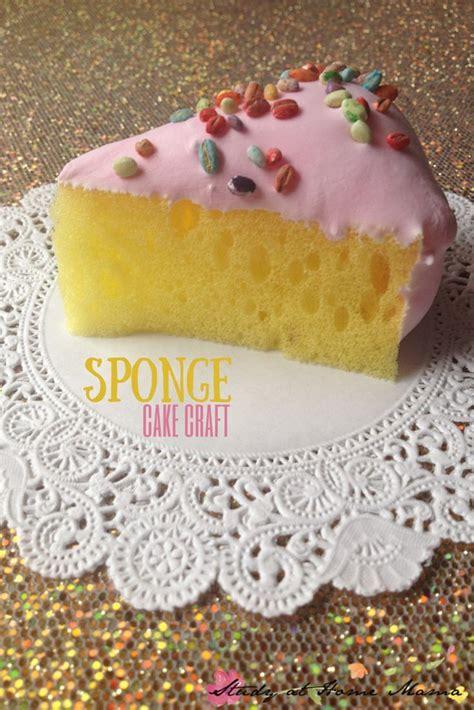 kids craft ideas sponge cake craft birthday crafts