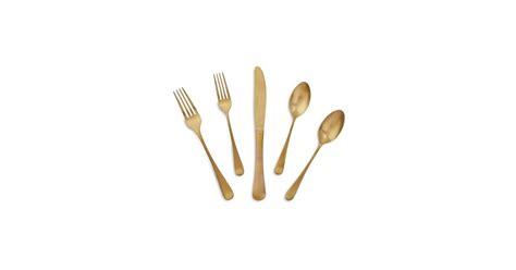 flatware gold popsugar piece