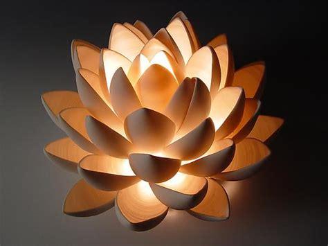 lotus  lilach lotan ceramic table lamp artful home