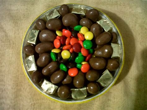 bintang cokelat coklat kemasan toples flanel