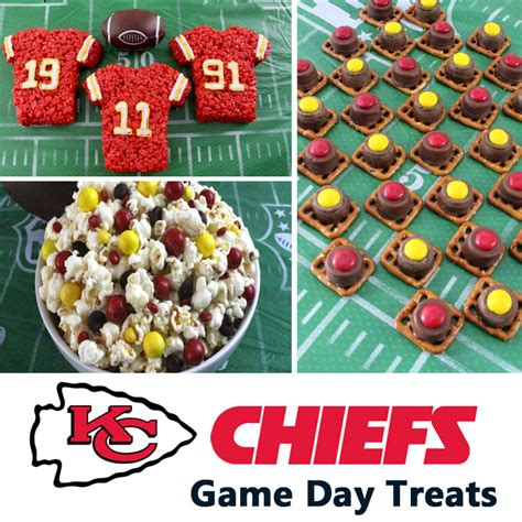 kansas city chiefs game day treats  sisters crafting