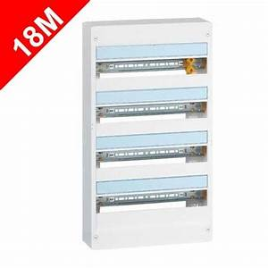 Tableau Electrique 4 Rangées : tableau lectrique legrand 4 rang es 18 modules drivia ~ Dailycaller-alerts.com Idées de Décoration