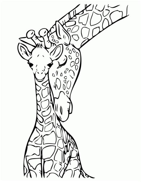 giraffe coloring pages ideas  pinterest giraffe colors adult coloring pages