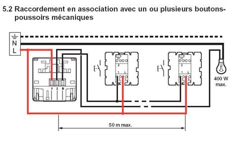 schema bouton poussoir schema electrique bouton poussoir minuterie