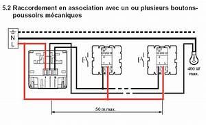 Cablage Bouton Poussoir : schema cablage bouton poussoir minuterie ~ Nature-et-papiers.com Idées de Décoration