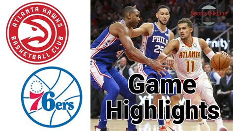 We acknowledge that ads are annoying so that's why we try to keep our page clean of them. Hawks vs 76ers Highlights Halftime | NBA February 24 - YouTube
