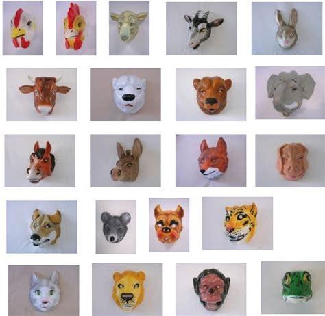 tier maske tiermasken hase affe elefant verschmodelle ebay