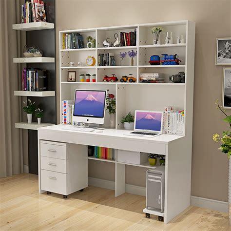small bedroom desks computer desk with a simple modern desktop bookcase desk 13224 | Computer desk with a simple modern desktop bookcase desk bookcase bedroom desk desk combined domestic students