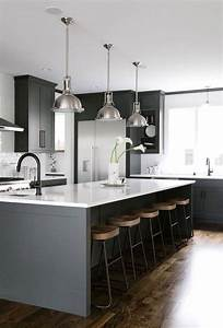 kitchen blue kitchen walls black and grey cabinets white With kitchen colors with white cabinets with black white grey wall art