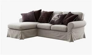 Model Ikea Ektorp Two Seat Sofa Chaise