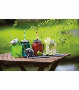 Vorratsbehälter Glas Mit Deckel : glas mit deckel und strohhalm pink blau gr n oder transparent kitschcakes ~ Markanthonyermac.com Haus und Dekorationen