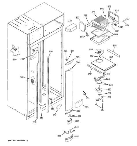 ge monogram ice maker parts diagram wiring diagram