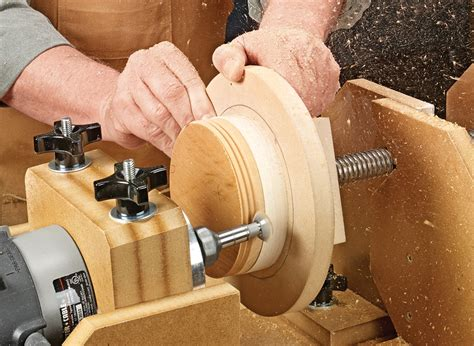 shop  threading jig canisters woodworking project