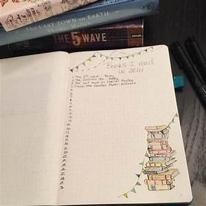 Bullet Journal Book Spread (10 Ideas!) - Productive & Pretty