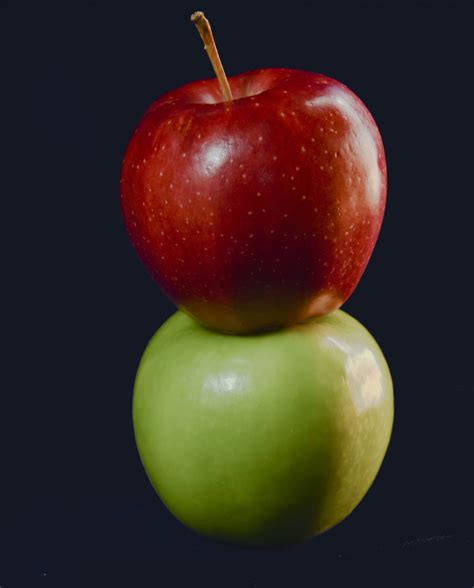 Apples Red And Green Stacked Free Stock Photo - Public ...